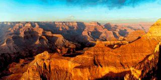 3D Postkarte Grand Canyon Panorama, Arizona, USA