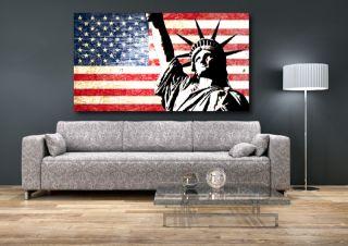 Wandtattoo/Aufkleber USA Amerika New York Las Vegas America Fahne Flag