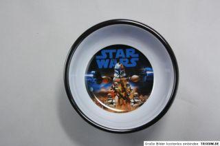 Star Wars Clone Wars Geschirr SET Teller, Schale, Tasse, Becher aus