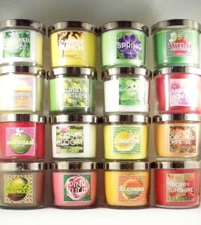 Bath Body Works / Slatkin & Co / White Barn ♥ 4 oz. Candle♥ YOU