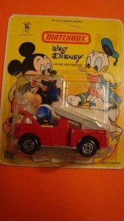Matchbox Disney Mickey in Fire Truck 1979