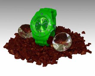 Unisex Silikon Uhr Damenuhr & Herrenuhr nice Watch Armbanduhr Trend
