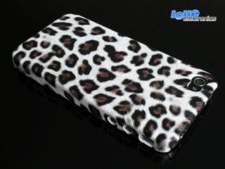 iPhone 4 LEOPARD Cover Tasche Hülle Schutzhülle + Folie