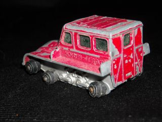 Vintage Lesney Matchbox No.35 Snow Trac Tractor Car