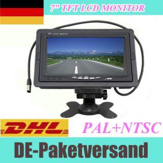 TFT LCD Color Screen Monitor rearview fr car kamera