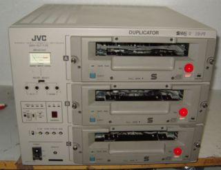 JVC BR S 777 Profi Recorder 3 Fach S/VHS Fernbedienung