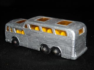 Vintage Lesney Matchbox No.66 Greyhound Bus Coach