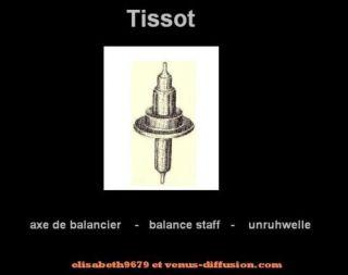 axe 723 staff balance unruhwelle Tissot 794