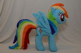My Little Pony Friendship is Magic Rainbow Dash Custom Plush Plushie