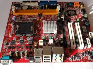Mainboard MSI MS 7293 Ver 1 0 So 775 PCI E DDR2 mATX Fujitsu Siemens