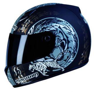 Marushin FIGHTER Helm 778 TIGER 2 + Gratis Visier GRL
