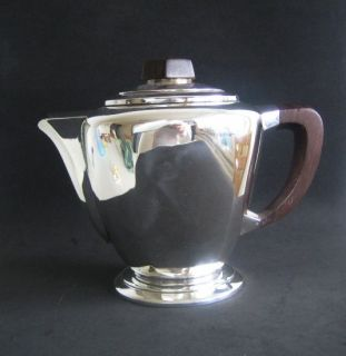 Antique CARDEILHAC Art Deco French Sterling Silver Tea Pot