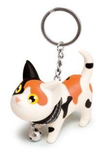 Schlüsselring Schlüsselanhänger Key Black Cat Katze