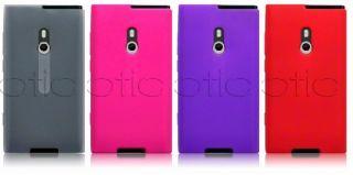 Carcasa de Silicona para Nokia Lumia 800 color Rosa Fucsia Pink