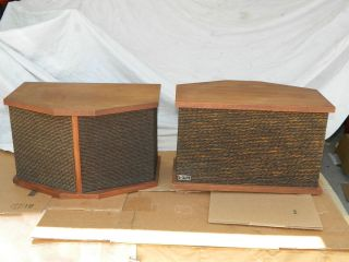 Vintage LDL 802 Linear Design Labs Direct Reflecting Speakers