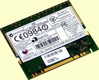 HP Mini PCI WLAN Karte, NC4000, NC6000, NC8000 802.11A/B/G