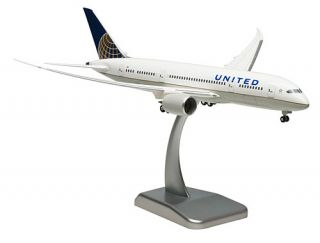 United Airlines   Boeing 787 8   1200 Hogan Wings Modell 4685   NEU