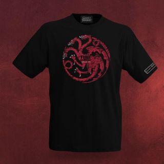 Game of Thrones   Lied von Eis und Feuer Targaryen Drachen Shirt mit