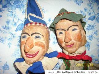 Handspielpuppen, Hohnsteiner ???, Krokodil, Holzspielzeug