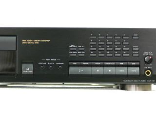 SONY CDP 797 Compact Disc Player