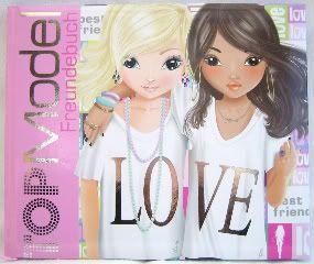 TOP Model Freundebuch (Louise, Talita)