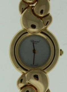 New Chopard Casmir Yellow Gold Ladies Watch