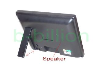 USB Power Color VGA Speaker Display Touch Screen POS LED TFT LCD