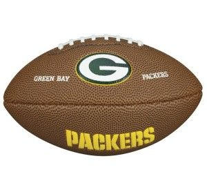 Green Bay Packers,Wilson Collector Football,NFL Football Soft Touch,1