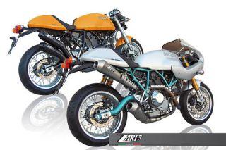 Ducati Sport Classic 1000 ECU Tuning Zard Auspuff ABE