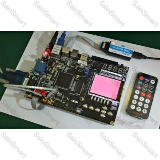 EP2C8Q208C8N Chip Development Board kit with FPGA SDRAM ADC 2.4 TFT