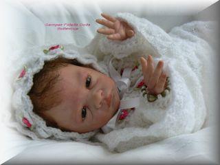Semper Fidelis Dolls Buttercup / Bonnie Brown Reborn Baby
