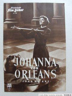 Johanna von Orleans (1948) IFB 837 Ingrid Bergman Francis L. Sullivan