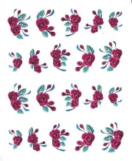 One Stroke Sticker  Pinsel Malerei Tattoo Nail Art #829