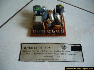 originaler TELEFUNKEN Stereo Decoder operette 301 ,auch für andere
