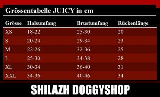 Hundepullover JUICY BLUE XS XXL Jack Russel Yorkshire Boston Terrier
