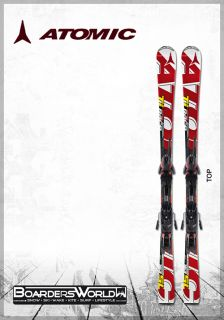 2012 ATOMIC Ski Race Ti SL 171 cm white/red + XTO 12