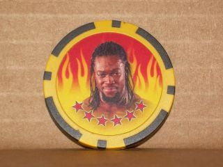 2011 Topps WWE Wrestling Power Chipz KOFI KINGSTON 10 Game Chip