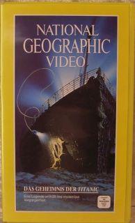 VHS Das Geheimnis der Titanic National Geographic Film