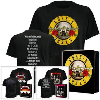 Kult Shirts METALLICA, GUNS N ROSES oder RAMONES