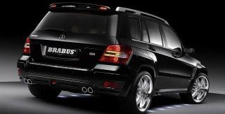 BRABUS Heckschürze, Pur R Rim, für Mercedes benz GLK X204 mit AHK