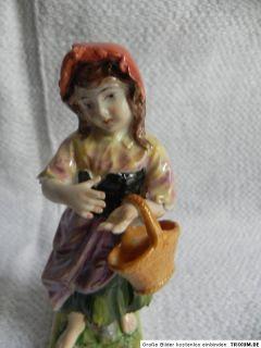 Paar Porzellanfiguren Wanderbursche und Mädchen Ernst Bohne & Söhne