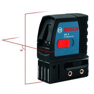 Bosch Linienlaser GLL 2 Professional Kreuz Linienlaser