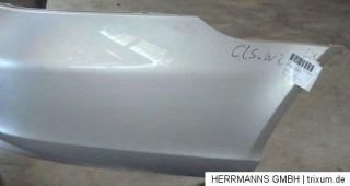 Mercedes Benz W219 CLS, Stoßstange hinten, gebraucht, silber