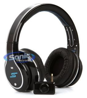 SYNC by 50 Cent Over Ear Sync Series Black Wireless Stereo Headphones