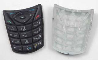 Tastatur Matte Nokia 5140 5140i Keypad Dark Blue Gitter