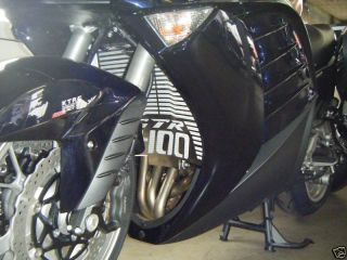 Kawasaki GTR 1400 Concours Kühlergrill Blende Edelstahl
