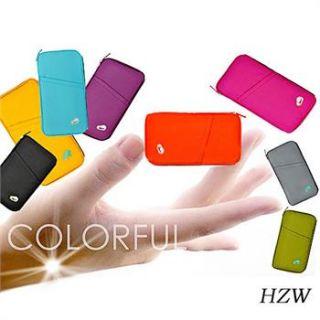Neu Süß 6 Farben Damen Karten Tasche Geldbörse Brieftasche Wallet