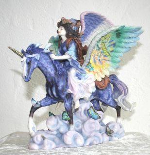 WINGS  v. Josephine Wall *Elfe auf Pegasus* NEU