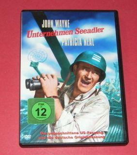 Unternehmen Seeadler    John Wayne    DVD 7321921121555