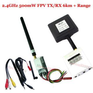 Neu Mini FPV 2.4GVideo A/V Transmitter/Receiver 6.0Km Multi quad Hexa
